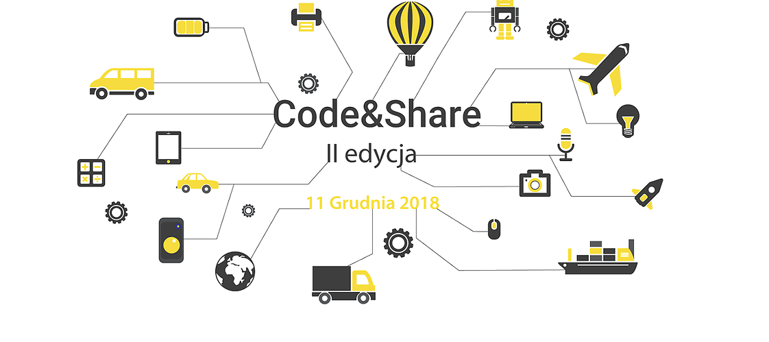 Code & Share icons