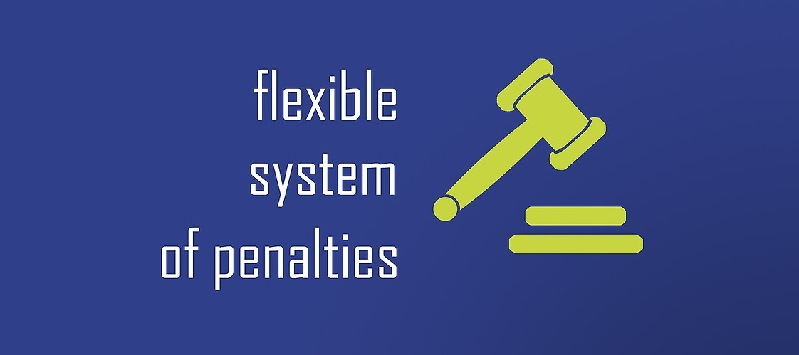 Graphic - flexible system of penalties
